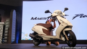 Hero Maestro Edge 125 Launched In India — Prices Start At Rs 58,500