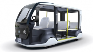 Toyota's Accessible People Mover To Debut At Olympic and Paralympic Games Tokyo 2020
