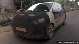 New Hyundai Grand i10 Nios Spied Testing Ahead Of Its Launch