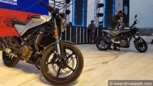 Husqvarna Svartpilen 250 & Vitpilen 250 Revealed At India Bike Week 2019