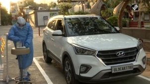 Delhi Gets India's First COVID-19 Drive-Through Sample Collection Facility