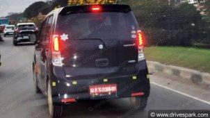 Maruti Suzuki WagonR Spied Testing Near Bangalore; Design Similar To The Previous-Generation WagonR