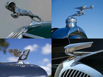 Car Hood Ornaments - 10 Famous Car Emblems