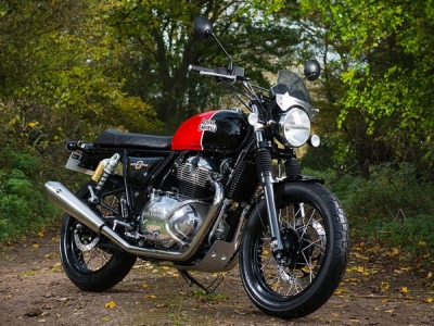 Royal Enfield Interceptor 650 Spotted With Chrome Fuel Tank