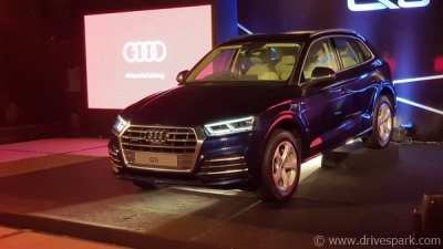Audi Q5 Launched In Bangalore - Prices Start At Rs 53.25 Lakh