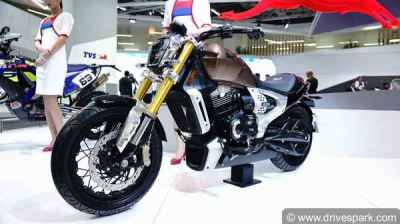 TVS Zeppelin First Look Review — A Power-Packed Cruiser