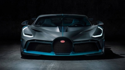 Limited-edition Bugatti Divo officially unveiled