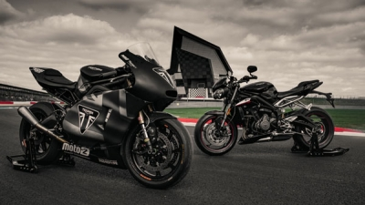 Triumph unveils Moto2 bike for 2019 season