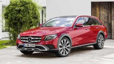 Mercedes-Benz E-Class All-Terrain Launch On Sep 28