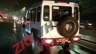 Force Gurkha Spied With BS-VI Diesel Engine