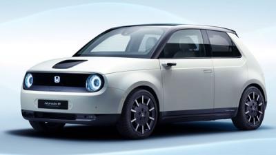 Honda's Electric Hatchback Christened 'e'