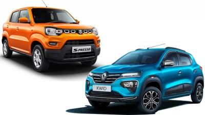 Maruti S-Presso Sales Beats Renault Kwid
