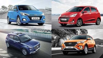 Hyundai Car Sales India
