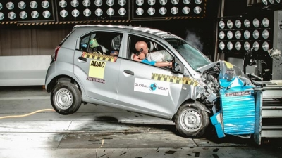 Hyundai Santro Scores Two Stars At Global NCAP