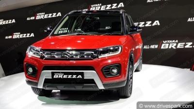 Auto Expo 2020: Maruti Vitara Brezza BS6 Petrol Unveil