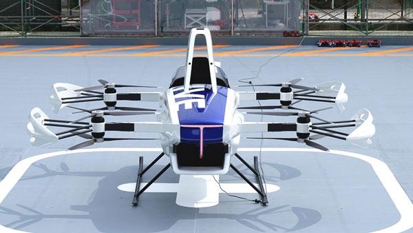 ماشین پرنده تویوتا ، پرواز آزمایشی خود را به صورت عمومی انجام می دهد!