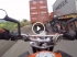Spied Bajaj Pulsar CS400 Test Mule Leaves KTM Duke 200 Eating Its Dust