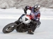 Harley-Davidson Street 750 Going As Fast As It Can On Ice