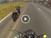 Bajaj Pulsar Goes Rider Free After Stunt Goes Wrong