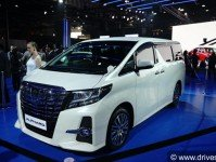 Toyota Alphard Images