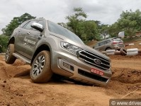 Ford Endeavour Off-Road Drive Experience Bangalore Images