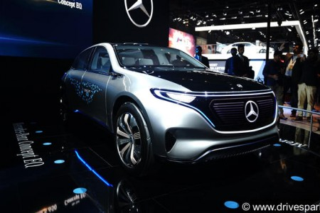 Mercedes Concept EQ Images