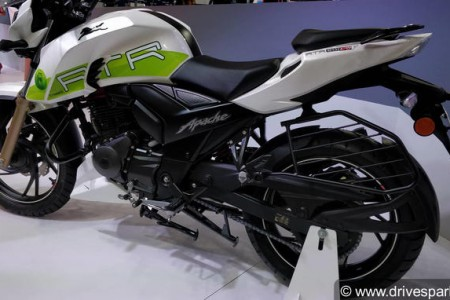 TVS Apache RTR 200 Fi Ethanol Images