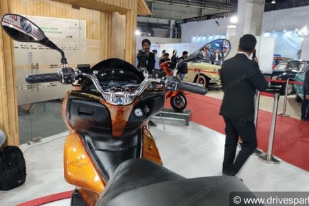 Okinawa Cruiser Electric Scooter Images