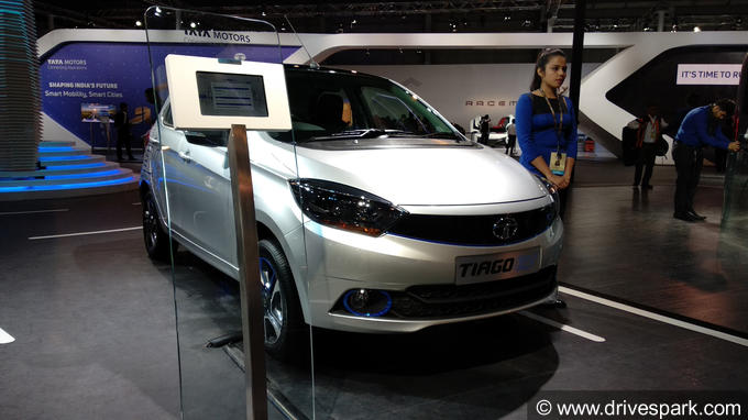 Auto Expo 2018: Tata Tiago EV  Details, Expected Price, Launch
