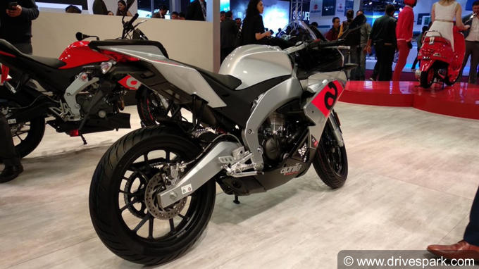 Auto Expo 2018: Aprilia RS 150  Full Specifications, Launch, Price