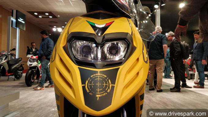 Auto Expo 2018: Aprilia Storm 125  Specifications, Features, Expected Price
