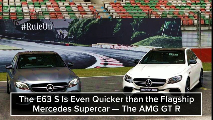 2018 Mercedes AMG E63 S — The Most insane Sedan You Can Buy In india Today