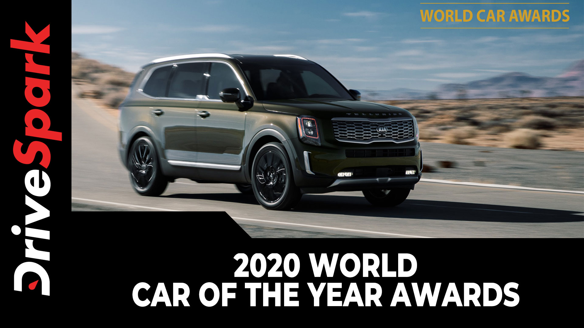 2020 World Car Of The Year Awards | Kia Telluride, Kia Soul EV, Porsche Taycan & Mazda 3 Winners