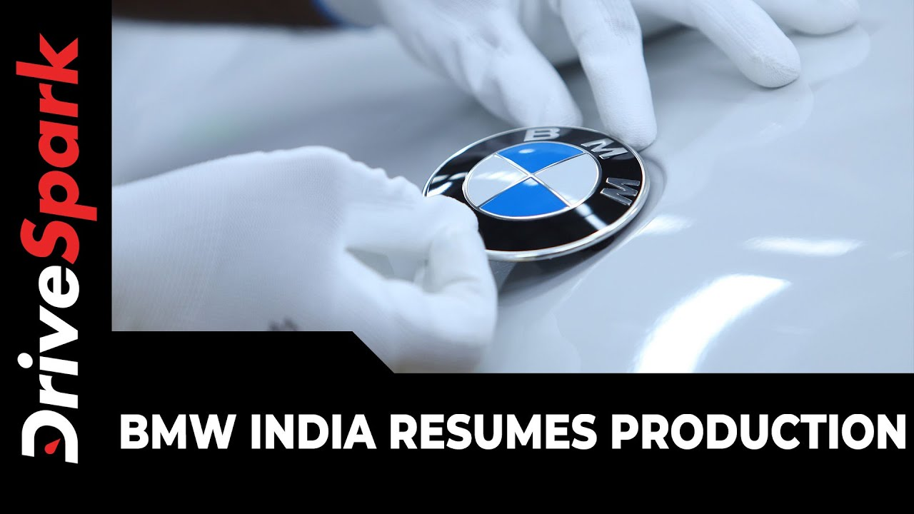 BMW India Resumes Production & Other Operations Amidst Lockdown Relaxations
