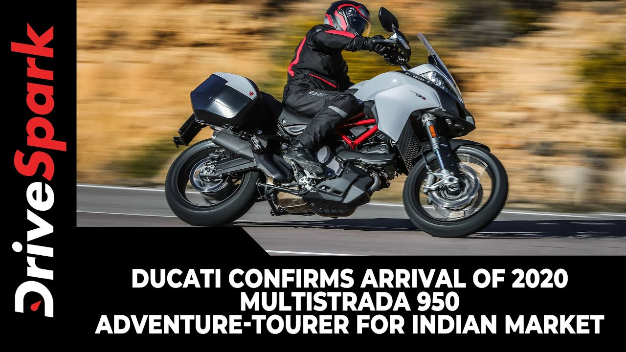 Ducati Confirms Arrival Of 2020 Multistrada 950 Adventure-Tourer For Indian Market