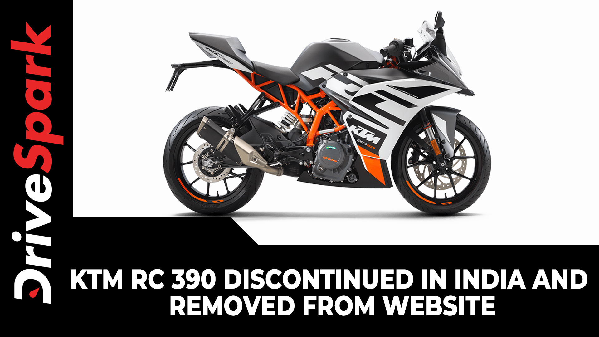 KTM RC 390 Discontinued In India & Removed From Website