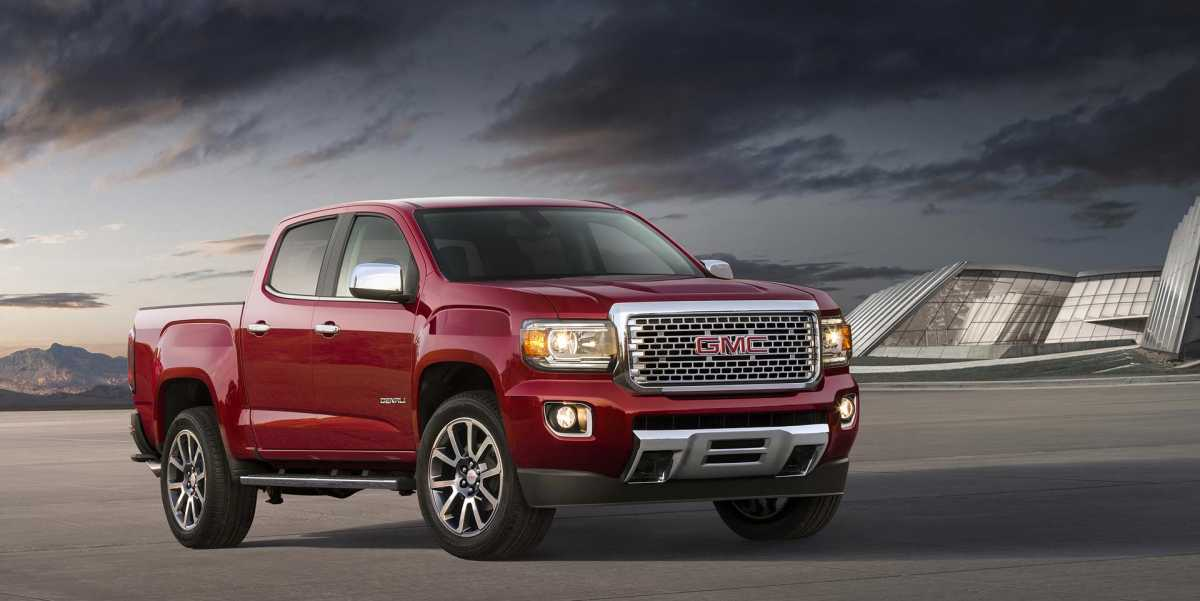 2017 GMC Canyon Denali 1920x963 Desktop wallpaper