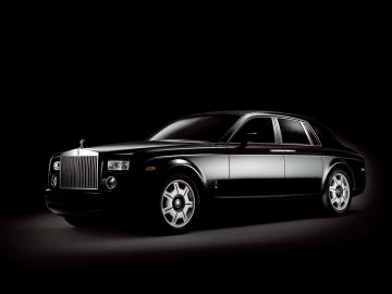 2006 Rolls-Royce Phantom Black