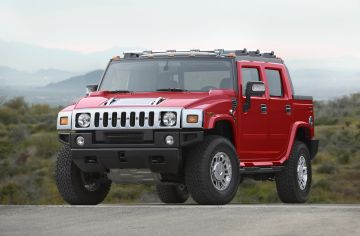 2008 Hummer H2 Victory Red Limited Edition