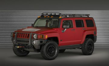 2009 Hummer H3 Alpha Four Wheeler Project Trailhugger Concept