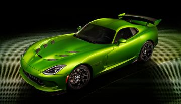 2014 Dodge Viper SRT Stryker Green