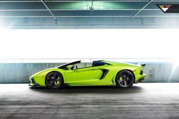 2017 Lamborghini Vorsteiner Verde Ithaca Aventador V Loader