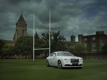 2015 Rolls Royce Wraith History Of Rugby Edition Loader