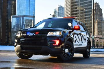 2016 Ford Police Interceptor Utility Loader