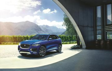 2017 Jaguar F Pace Loader