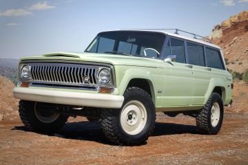 2018 Jeep Wagoneer Roadtrip Concept