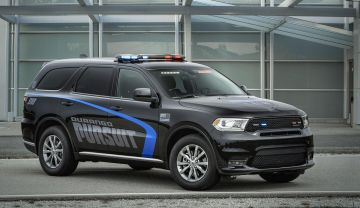 2019 Dodge Durango Police Pursuit