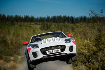 2019 Jaguar F-Type Rally Special