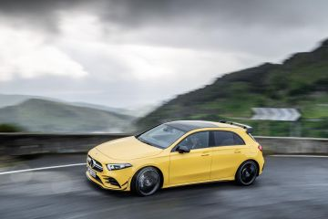 2019 Mercedes-Benz AMG A 35 4MATIC