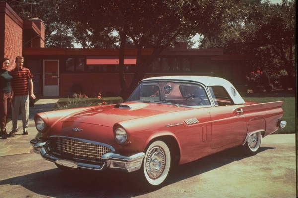 1957 Ford Thunderbird Wallpapers Hd Drivespark